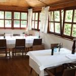 Kuřácká část restaurantu Chorvatský Mlýn kapacita 20 míst