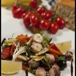 Salát z jaderské chobotnice