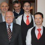Václav Klaus v Restaurantu Chorvatský Mlýn